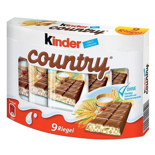 Billede af Ferrero Kinder Country 9er 211,5 g.