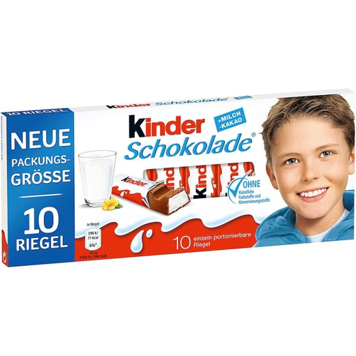 Billede af Ferrero Kinder Schokolade 125 g.