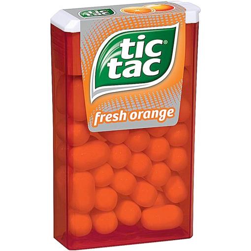 Billede af Ferrero Tic Tac Fresh Orange 18 g.