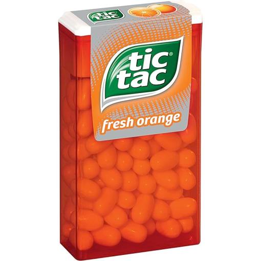 Billede af Ferrero Tic Tac Orange 100er 49 g.