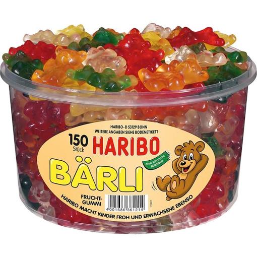 Billede af Haribo Bärli Teddy-Bären 1200 g.