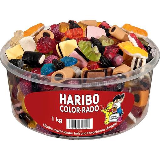 Billede af Haribo Color-Rado 1000 g.