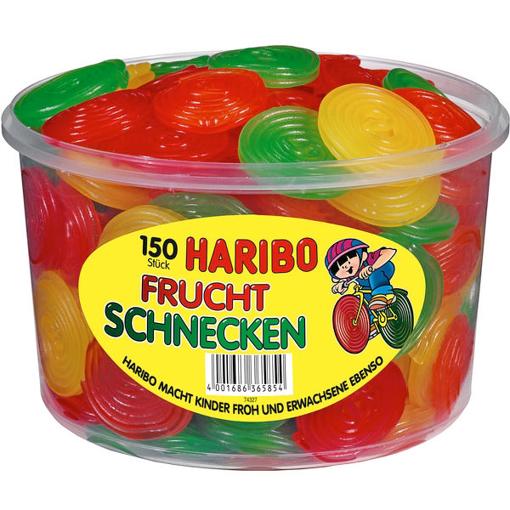 Billede af Haribo Fruchtschnecken 1200 g.