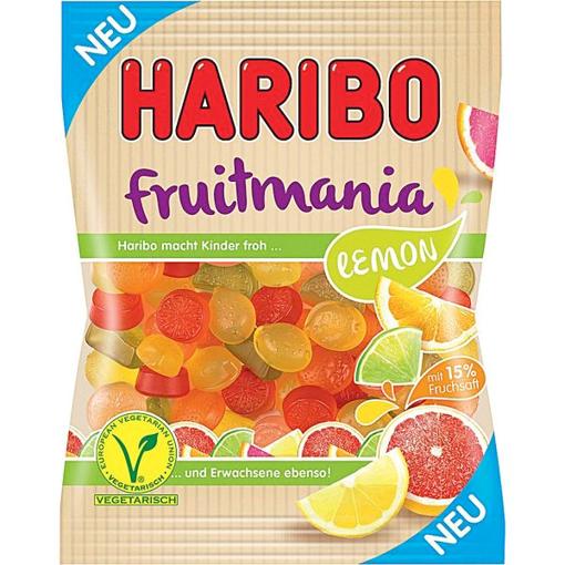 Billede af Haribo Fruitmania Lemon 175 g.