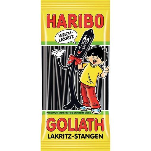 Billede af Haribo Goliath Lakrids-Stangen 125 g.