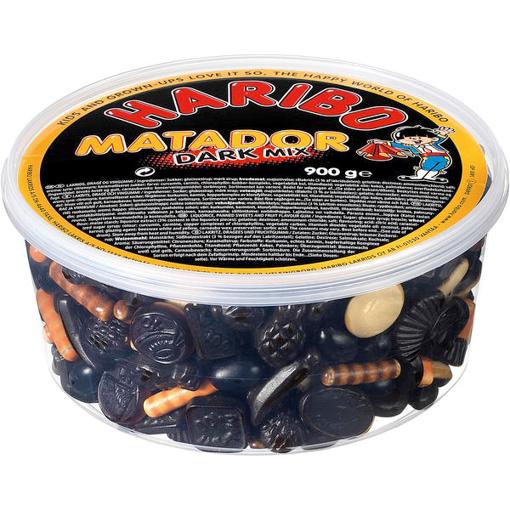 Billede af Haribo Matador Mix Mørk  900 g.