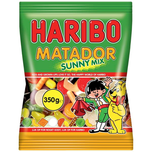 Billede af Haribo Matador Mix Sunny 350 g.