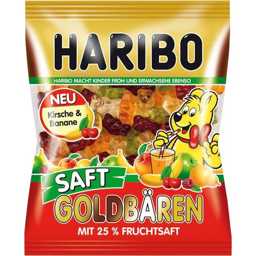 Billede af Haribo Saft-Goldbären 175 g.