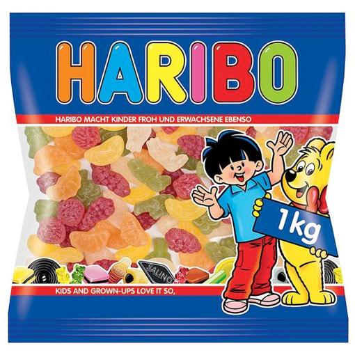 Billede af Haribo Tropi Frutti 1000 g.