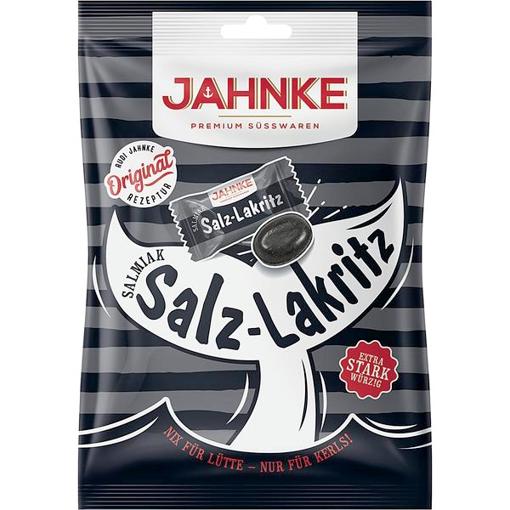 Billede af Jahnke Salt lakrids Bonbon 125 g.