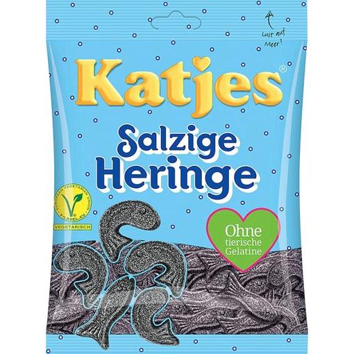 Billede af Katjes Salzige Heringe 200 g.
