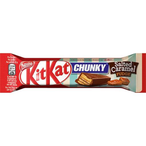Billede af KitKat Chunky Salted Caramel 42 g.