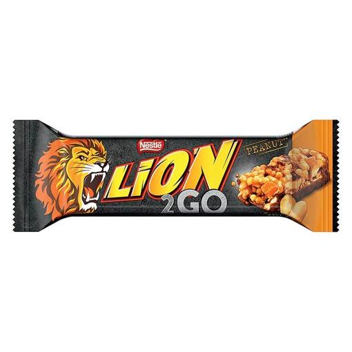 Billede af Lion 2go Bar Peanut 33 g.