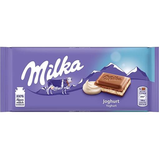 Billede af Milka Joghurt 100 g.