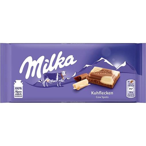Billede af Milka Kuhflecken 100 g.