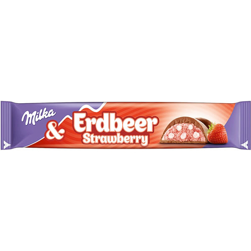 Billede af Milka Riegel Erdbeer 36,5 g.