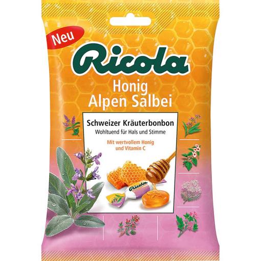 Billede af Ricola Honig Alpen Salbei 75 g.