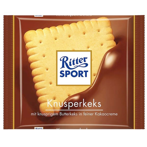 Billede af Ritter Sport Knusperkeks 100 g.