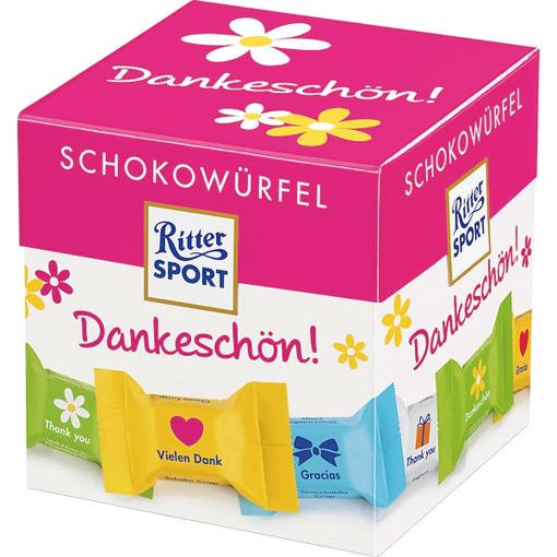 Billede af Ritter Sport Schokowürfel Box Dankeschön 176 g.