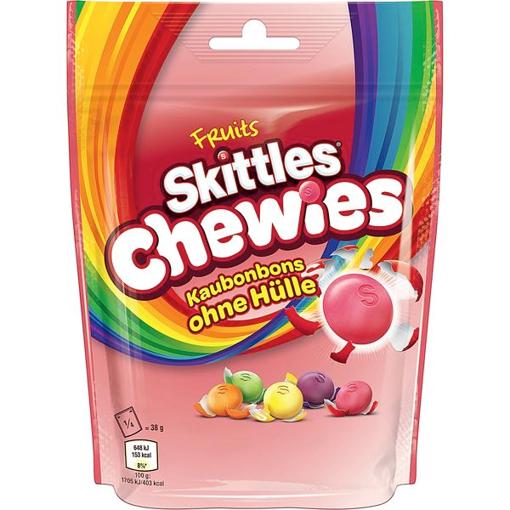 Billede af Skittles Chewies 152 g.