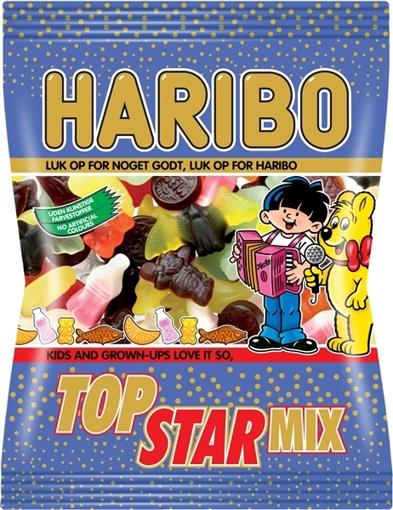 Billede af Haribo Top Star Mix 375 g.