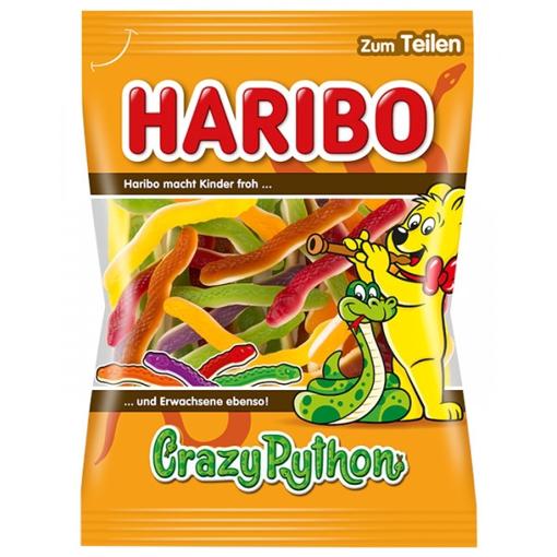 Billede af Haribo Crazy Python 175 g.