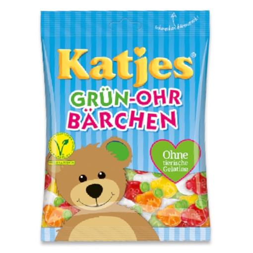 Billede af Katjes Grün-Ohr-Bärchen 500 g.