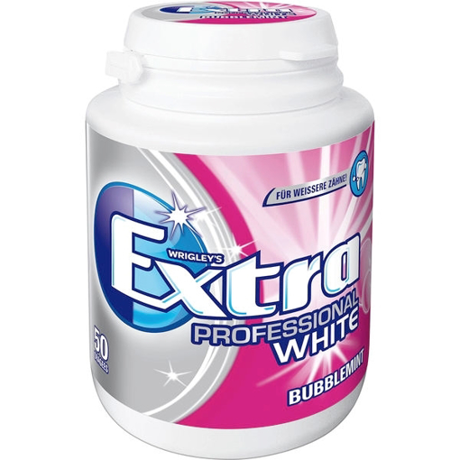 Billede af Wrigley's Extra Professional White Bubblemint Dragees 70 g.