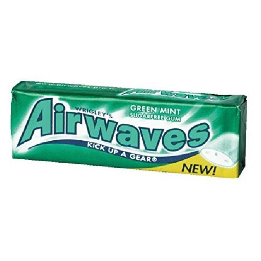Billede af Wrigley's Airwaves Green Mint 14 g.