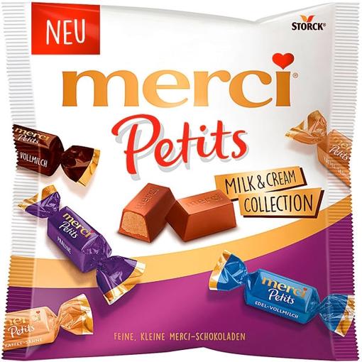 Billede af Merci Petits Milk & Cream Collection 125 g.