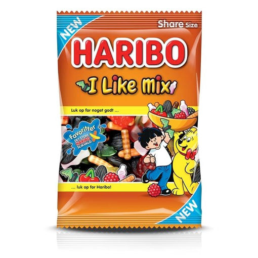 Billede af Haribo I Like Mix 375 g.