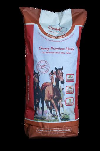 Billede af Champ Premium Müsli u.havre 20 kg