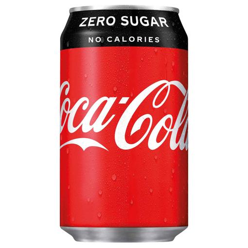 Billede af Coca Cola Zero 24 x 0,33 l