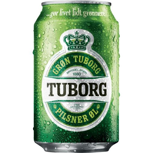Billede af Tuborg Pils 24 x 0,33 l
