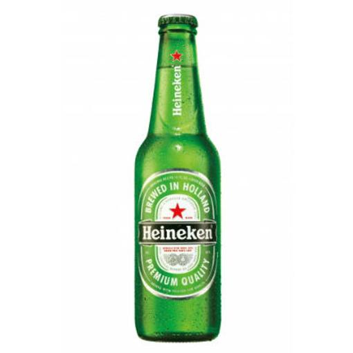 Billede af Heineken Flasleøl 5 % 24 x 0,33 l