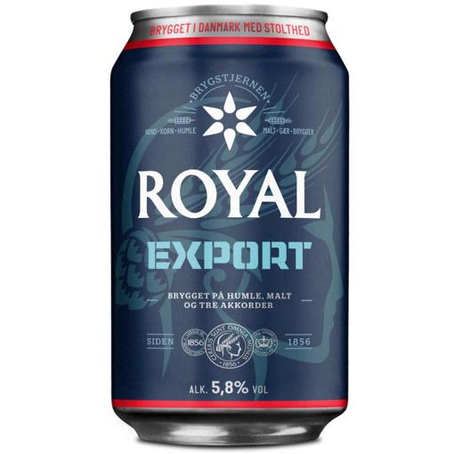 Billede af Royal Export 5,8 % 24 x 0,33 l